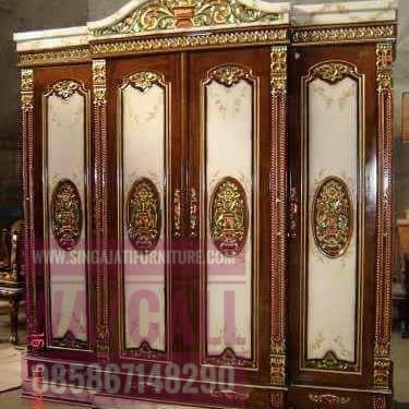 Almari-4-Pintu,Singa Jati Furniture