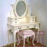 Meja Rias Set, Kursi dan Meja Rias, Singa Jati Furniture