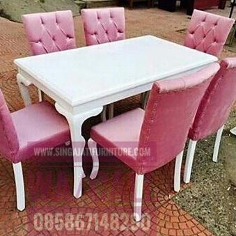 Kursi Makan Sofa Set, Kursi Makan Singa Jati Furniture. Kursi Makan Set