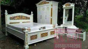 Kamar Tidur Set Mewah Singa Jati Furniture