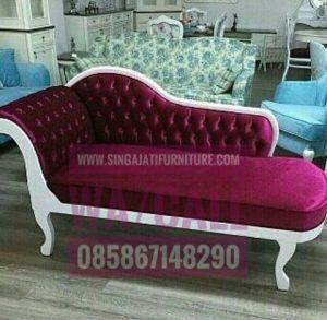 Kursi Sofa Louis Jati Minimalis