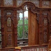 Pintu Gebyok Jati TPK Great A Ukiran Jawa Antik