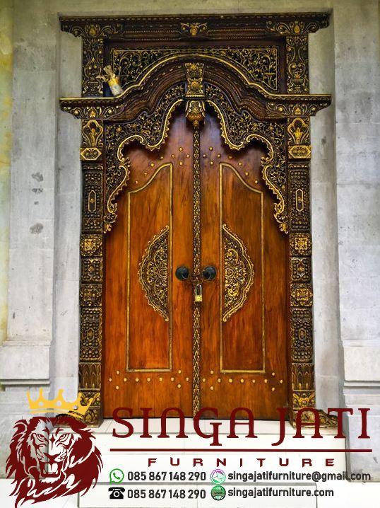 Pintu-Gebyok-Ukir-Minimalis-Jati