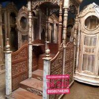 Jual-Mimbar-Masjid-Kubah-Marmer-Ukiran-Kaligrafi-Jepara-14