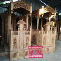 Mimbar Podium Masjid Jati Minimalis