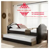 Dipan Tempat Tidur Double Bed Singa Jati Jepara