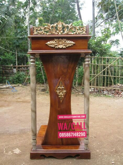 Podium-Jati-Minimalis