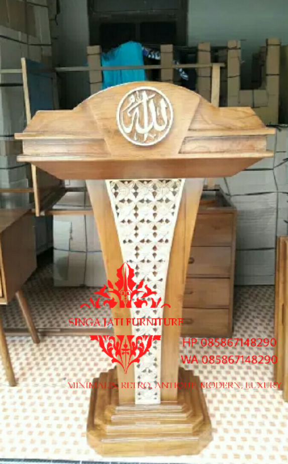 Jual-Mimbar-Podium-Ukiran-Kaligrafi-26