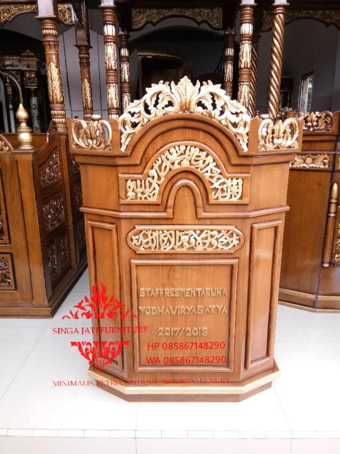 Jual-Mimbar-Podium-Ukiran-Kaligrafi-09