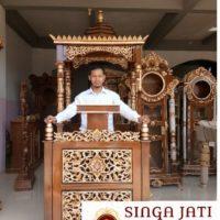 Mimbar-Kaligrafi-Ukiran-Jepara