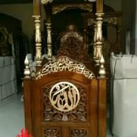 Jual-Mimbar-Masjid-Kubah-Ukiran-Kaligrafil-Allah-13