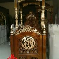 Jual Mimbar Masjid Jati Murah dan Terlengkap