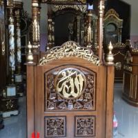 Jual-Mimbar-Masjid-Kubah-Ukiran-Kaligrafil-Allah-12
