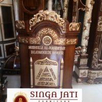 Mimbar-Masjid-Podium-Ukiran-Kaligrafi-Harga-Murah