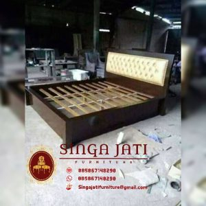 Harga-Tempat-Tidur-Minimalis-Kayu-Jati-Perhutani