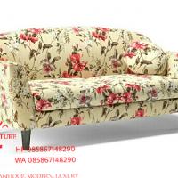 Jual Kursi sofa retro Jati vivien