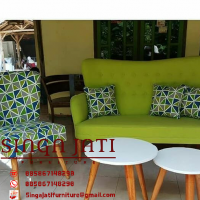 Kursi Sofa Retro Minimalis