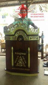 Harga-Mimbar-Masjid-Minimalis-Sederhana-Ukiran-Kaligrafi-02