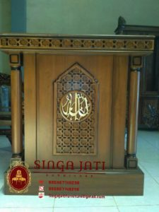 Harga-Mimbar-Masjid-Minimalis-Sederhana-Ukiran-Kaligrafi-Jepara-02