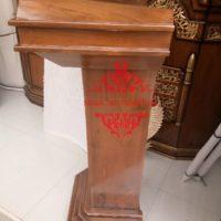 Harga Mimbar Masjid Ukiran Kaligrafi Murah Dan Terlengkap di Jepara