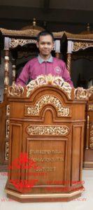 Harga-Mimbar-Masjid-Podium-Murah-Jepara