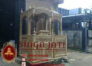 Model-Mimbar-Masjid-Pintu-Samping-Terbaru-Meja-Kaligrafi-02