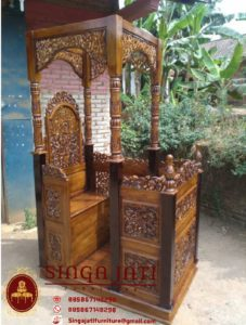 Model-Mimbar-Masjid-Pintu-Samping-Terbaru-Ukiran-Kaligrafi-01