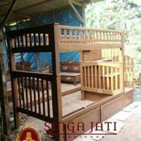 Tempat Tidur Tingkat Untuk Anak Termurah Di Jepara Bergaransi