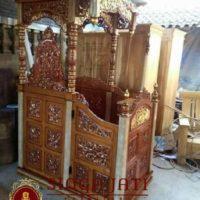 Jual Mimbar Masjid Atap Kubah Murah