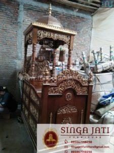 Mimbar-Masjid-Atap-Kubah-Model-Terbaru