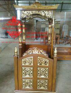 Mimbar-Masjid-Atap-Kubah-Ukiran-Jepara