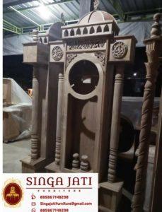 Jam-Hias-Atap-Kubah-Ukiran-Kaligrafi-Untuk-Masjid