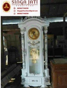 Jual Satu Set Mimbar Masjid dan Jam Hias Ukir Untuk Masjid
