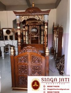 Jual-Mimbar-Masjid-Atap-Kubah-Ukiran-Kaligrafi - Copy