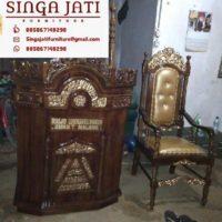 Jual Mimbar Masjid Malang Ukiran Kaligrafi Harga Murah