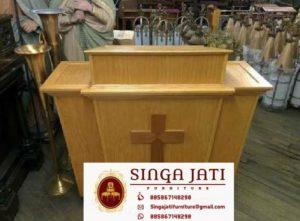 Mimbar-Gereja-minimalis-Kayu-Jati-Murah
