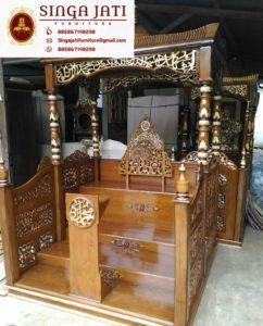Model-Mimbar-Masjid-Atap-Kubah-Tangga-Ukiran-Kaligrafi-02 - Copy