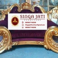 Jual Kursi Tamu Sofa Aladin Mewah Ukiran Jepara Kayu Jati