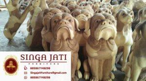 Jual-Patung-Anjing-Bulldog-Duduk-Murah