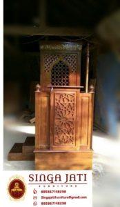 Mimbar-Masjid-Arabik-Harga-Murah-Ukiran-Kaligrafi