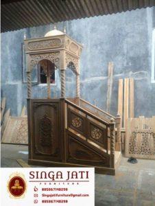 Mimbar-Masjid-Nabawi-Atap-Kubah-Ukiran-Jepara-01
