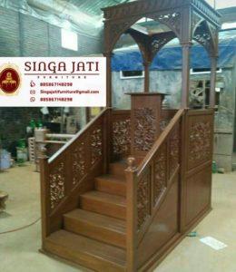 Mimbar-Masjid-Nabawi-Atap-Kubah-Ukiran-Jepara-04