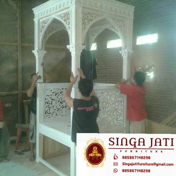 Model-Mimbar-Masjid-Nabawi-Atap-Kubah-04