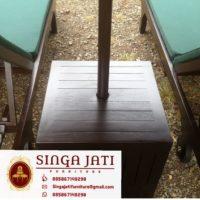 Jual Kursi Pantai Lounger Sofa Kayu Jati