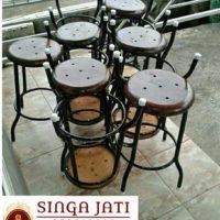 Harga Kursi Kafe Minimalis Kayu Jati