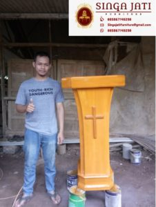Model-Mimbar-Gereja-Minimalis-Harga-Murah