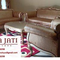 Kursi Tamu Sofa Minimalis Modern Mewah Ukiran Jepara