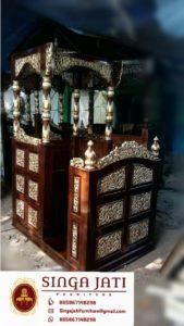 Mimbar-Masjid-Kayu-Jati-Harga-Murah