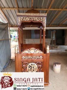 Mimbar-Masjid-Model-Terbaru