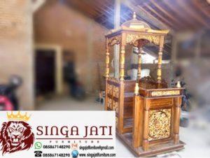 Mimbar-Masjid-Kubah-Martapura